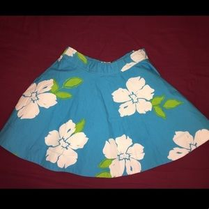 Dresses & Skirts - NWT Blue Floral Circle Skirt